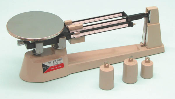 6 004 triple beam balance 2610 gm x 0 1 gm