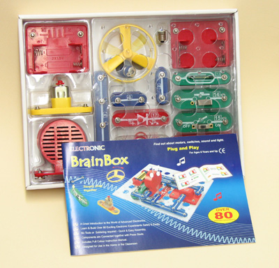 Brain Box Circuit Kit 80 Experiments / Projects