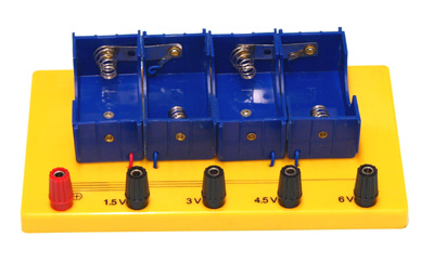 Battery Holder 4 D Cell Mounted
