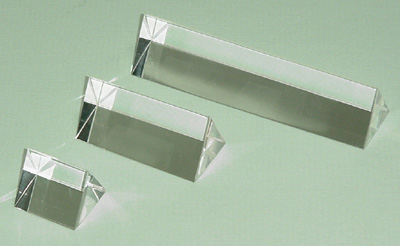 Prism Acrylic Set of 3 25mm, 50mm, 100mm