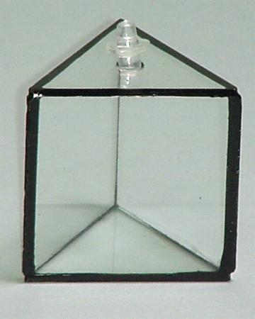 Prism Glass, Hollow, Equilateral