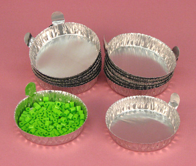 Aluminum Weighing Dishes Large pk of 100