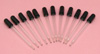 """Glass Droppers Pipettes 3"""" pk of 12"""