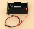 'D' Cell Battery Holder With Wire