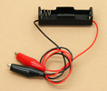 'AA' Cell Battery Holder With Clips