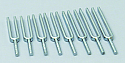 Tuning Fork Set of 8, In Box