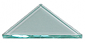 Prism Glass Flat Right Angle