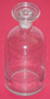 Reagent Bottle Clear Apothecary Jar Glass 125 ml