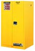Justrite Sure-Grip EX Safety Cabinet 60 Gallon 1 Door 2 Shelves