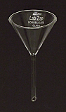 Funnel Borosilicate Glass 4 Inch, 100mm