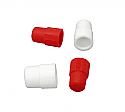 High Grip Hollow Top Plug Caps for PS Test Tubes