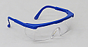 Safety Glasses, Blue Frame