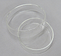 Petri Culture Dishes Borosilicate Glass Superior Quality 75mm Diameter