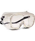 Plastic Safety Impact Goggles Direct Vent Fogless